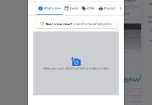 Step 6. Add a Photo to your Google Post