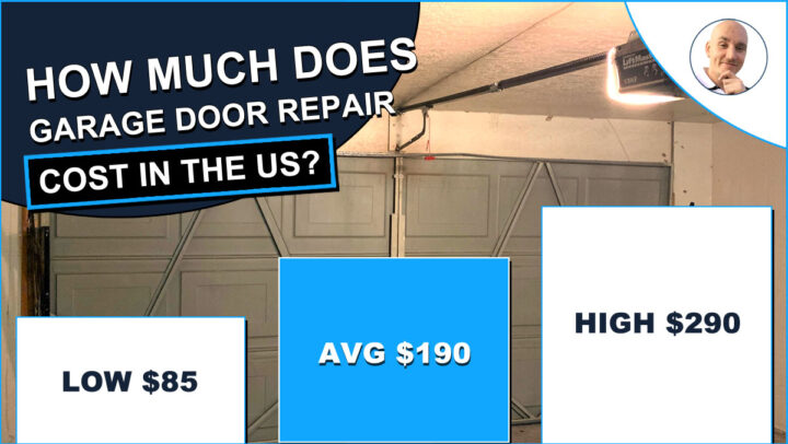 Average Cost of Garage Door Repair
