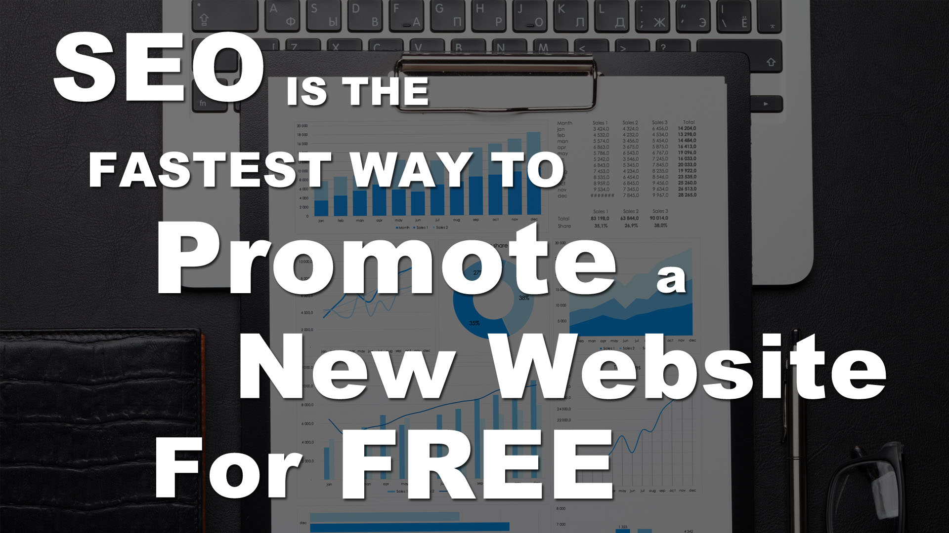 How to Promote a New Website for Free - Fastest
